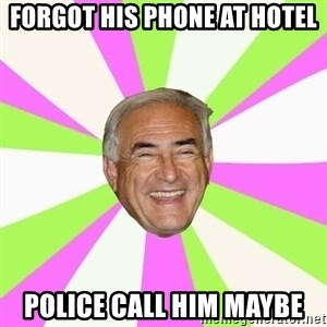 Dsk Generator - forgot his phone at hotel police call him maybe