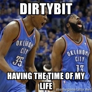Kd & James Harden - Dirtybit HavinG the time of my life