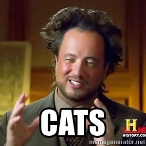 Ancient Aliens - cats