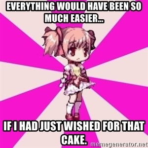 Typical GriefSyndrome gamer - EVERYTHING WOULD HAVE BEEN SO MUCH EASIER... if i had just wished for that cake.