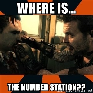 Black Ops II Advice  - where is... the number station??