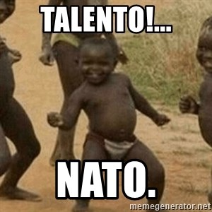 Little Black Kid - talento!... nato.