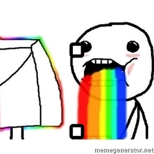 Puking Rainbows - . .