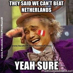 YaomingFumon - THEY Said we can't beat NEtherlands Yeah sure