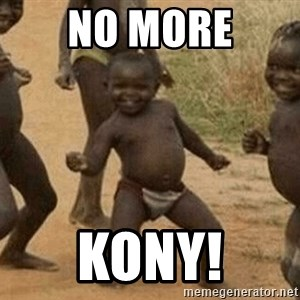 Success African Kid - no more kony!