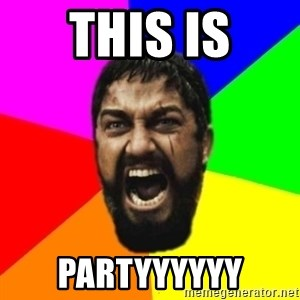 sparta - this is partyyyyyy