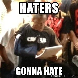 Canibus Notepad  - HATERS GONNA HATE