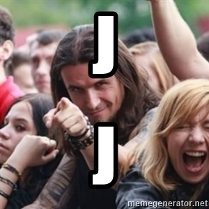 Ridiculously Photogenic Metalhead - j j