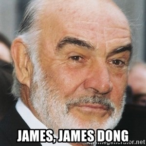 sean connery ftw - JAMES, JAMES DONG