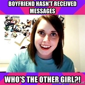 Possessive Girlfriend - Boyfriend hasn't received messages who's the other girl?!