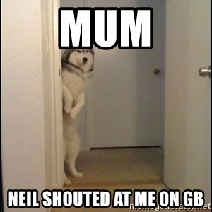 Oye Lucho - mum neil shouted at me on gb