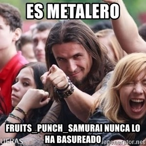 Ridiculously Photogenic Metalhead Guy - es metalero fruits_punch_samurai nunca lo ha basureado