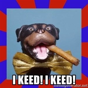 Triumph the Insult Comic Dog - I KEED! I KEED!