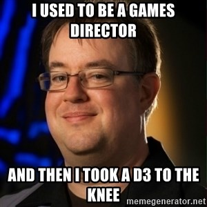 Jay Wilson Diablo 3 - I USED TO BE A GAMES DIRECTOR AND THEN I TOOK A D3 TO THE KNEE