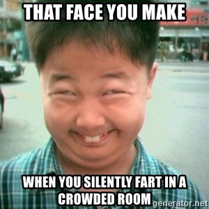 Lolwtf - that face you make when you silently fart in a crowded room