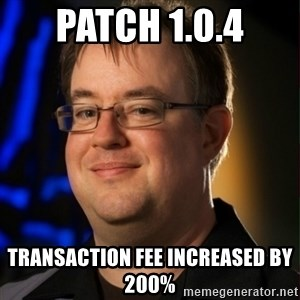 Jay Wilson Diablo 3 - Patch 1.0.4 Transaction fee increased by 200%
