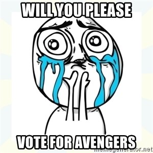 Cuteness overload - will you please vote for avengers