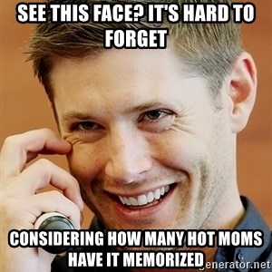 Psychopatic Murderer Jensen - See this face? it's hard to forget considering how many hot moms have it memorized