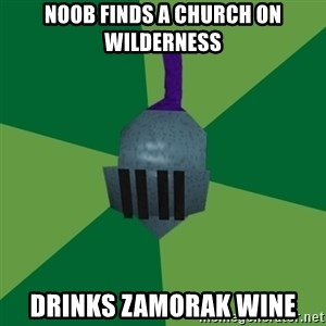 Runescape Advice - NOOB FINDS A CHURCH ON WILDERNESS DRINKS ZAMORAK WINE
