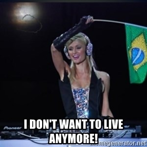 paris hilton dj - I don't wAnt to live aNymore!