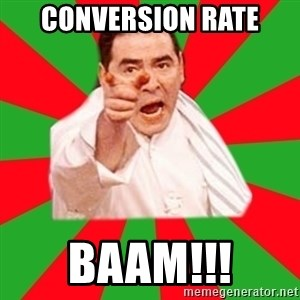 Emeril - CONVERSION RATE BAAM!!!
