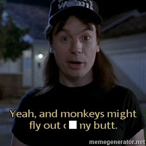 Wayne's world - .