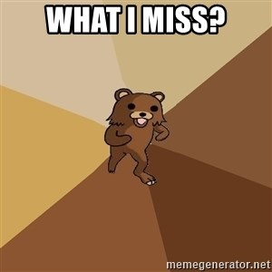 Pedo Bear From Beyond - what i miss?