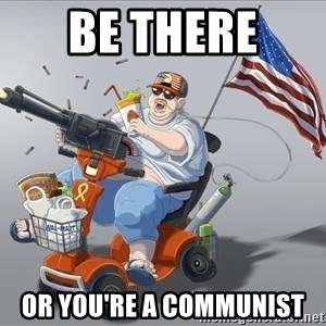 mr.merica - Be ThEre  or you're a communist