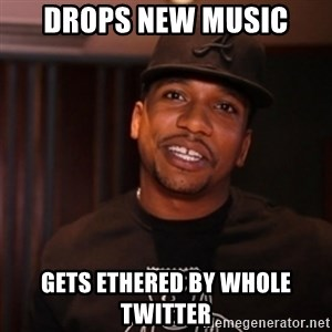 Bad Luck Cyhi - Drops new music gets ethered by whole twitter