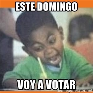 I FUCKING LOVE  - este domingo voy a votar