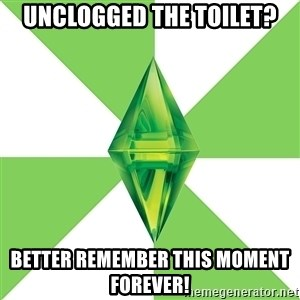 The Sims Anti-Social - UNCLOGGED THE TOILET? BETTER REMEMBER THIS MOMENT FOREVER!