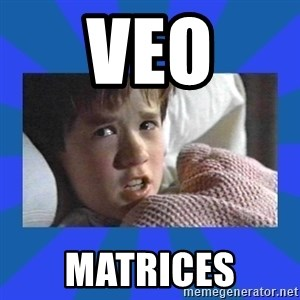 i see dead people - VEo matrices