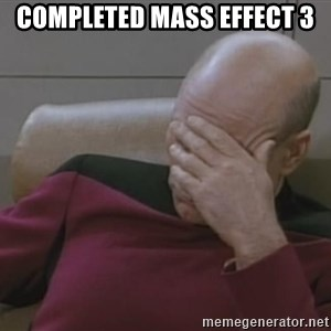 Picard - completed mass effect 3