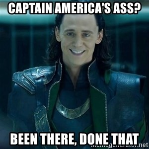 Tinichniy Loki - Captain america's ass? been there, done that