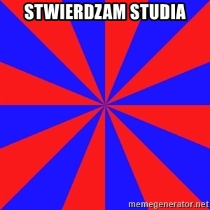 background picture - STWIERDZAM STUDIA