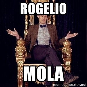 Hipster Doctor Who - ROGELIO MOLA
