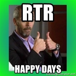 Thumbs up House - RTR HAPPY DAYS