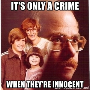 Family Man - It's only a crime When they're innocent