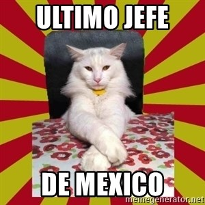 Dictator Cat - ultimo jefe  de mexico