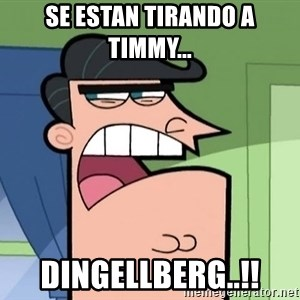 Umbridge - se estan tirando a timmy... dingellberg..!!