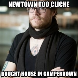 hipster Barista - Newtown too cliche bought house in camperdown