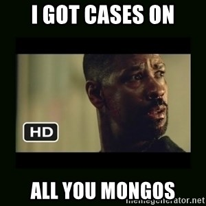 Alonzo Training Day - I got cases on aLL YOU MONGOS