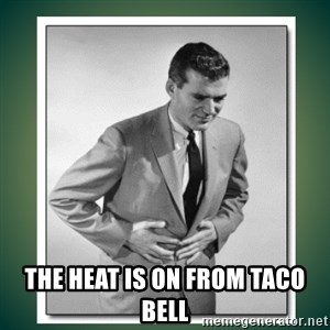 well played - THE HEAT IS ON FROM TACO BELL
