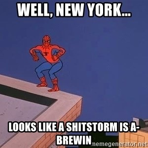 Spiderman12345 - Well, New York... Looks like a shitstorm is a-brewin