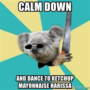 BOI_Koala - Calm DOWN AND DANCE TO KETCHUP MAYONNAISE HARISSA