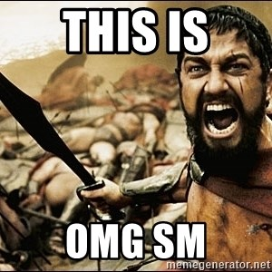 This Is Sparta Meme - THIS IS OMG SM