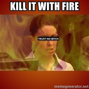 CASEY ANTHONY BURN IN HELL - KILL IT WITH FIRE