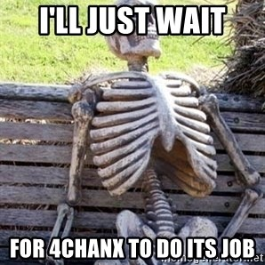 Waiting Skeleton - I'll just wait for 4chanx to do its job