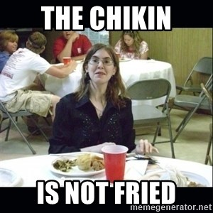Brown Tooth Lucy - The Chikin Is not Fried