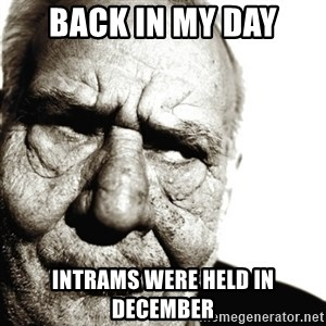 Back In My Day - back in my day intrams were held in december